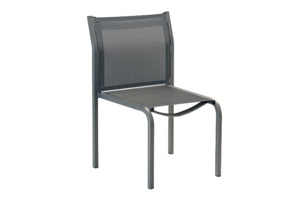 Luxe 51108SL Sling Stacking Armless Dining Chair