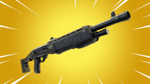 gold pump shotgun fortnite