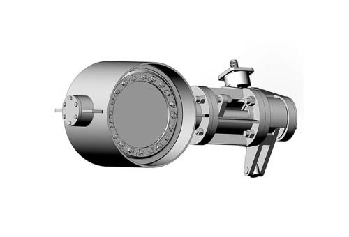 Затвор дисковий з ламінальним ущільненням 3-х ексцентриковий під приварення 32с310нж Ду 150 Ру 10