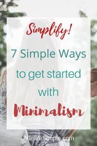 Minimalism, simplify your life, minimalist