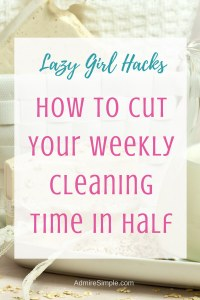 Cut your cleaning time in half, how to clean fast and efficient