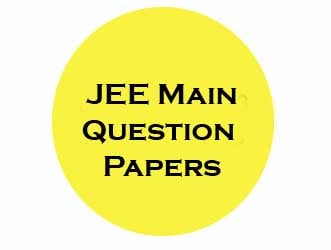JEE Main Question Papers