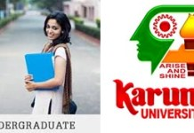 Karunya University UG Admission