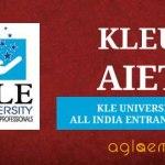 KLEU AIET All India Entrance Test