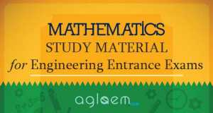 Mathematics Study Material for Engineering Entrance Exams