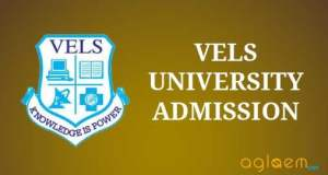 Vels University Chennai Admission all courses