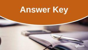 OJEE MBA 2018 Answer Key