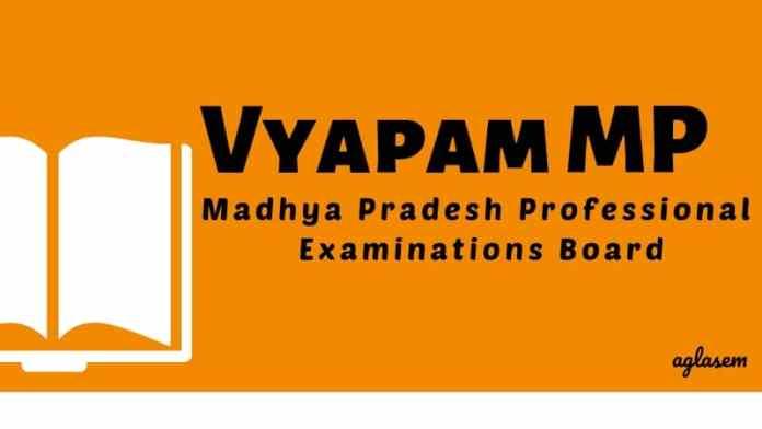 Vyapam MP Aglasem