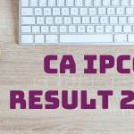 CA IPCC Result 2018
