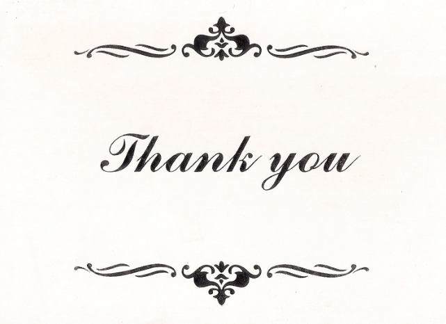 How and When to Thank Your Recommendation Writers