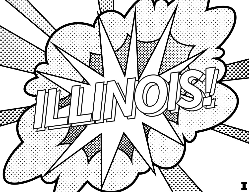 Coloring Page, Illinois Undergraduate Admissions
