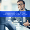 5 Reasons Why You Should Absolutely Pursue a Part-Time MBA