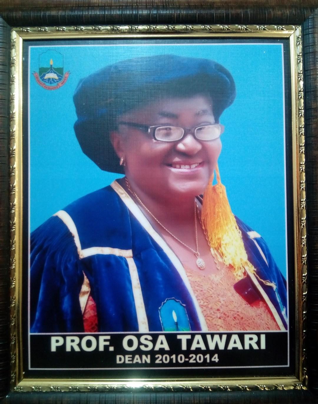 Prof. Osarome Tawari