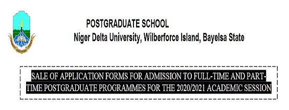 NDU: SALE OF POST-GRADUATE APPLICATION FORMS ONGOING