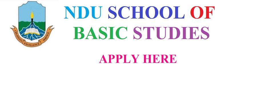 Niger Delta University School of Basic Studies