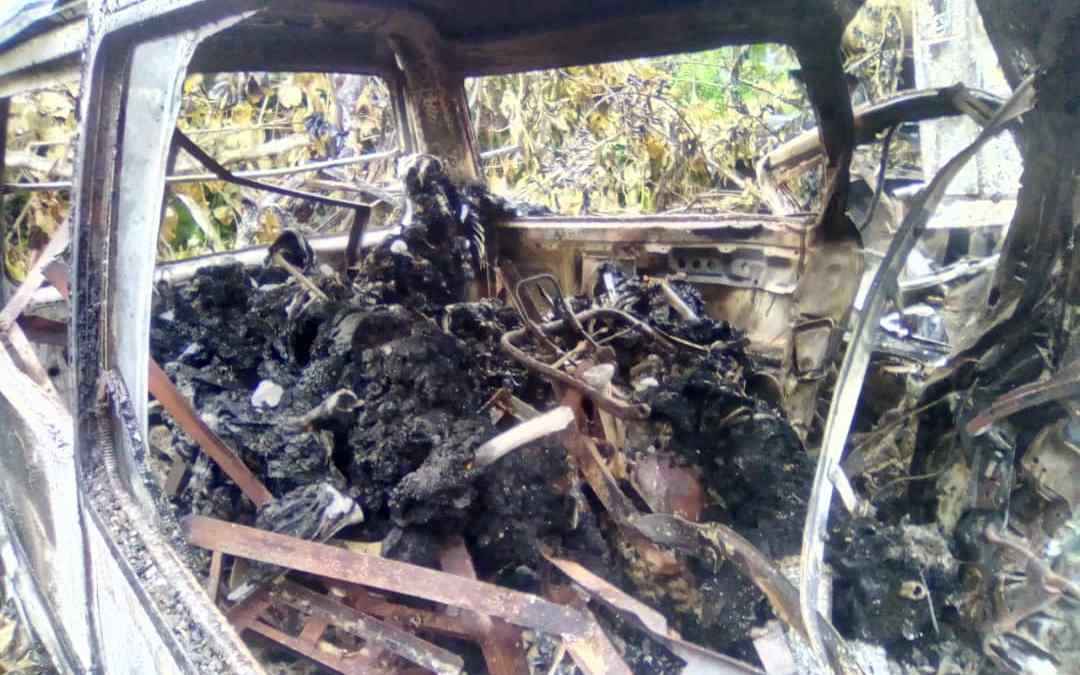 Gruesome Accident in Tombia/Amassoma Road: 10 Burnt Alive, Five Rescued With Various Degrees of Burns