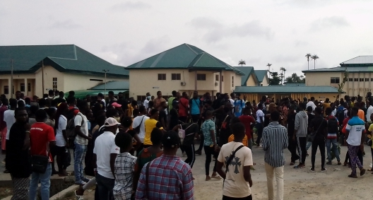 """Open the School Fees Portal Like """"Ashawo Legs"""" – Government Reps Tells VC: Day 3 Protest Reports"""