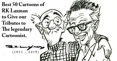 RK Laxman Cartoons Collection