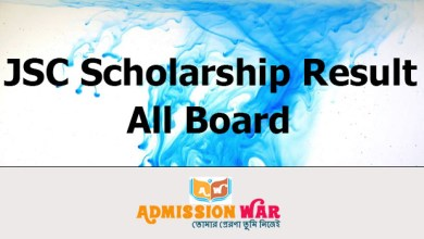 Photo of JSC Scholarship Result 2020 | All Board