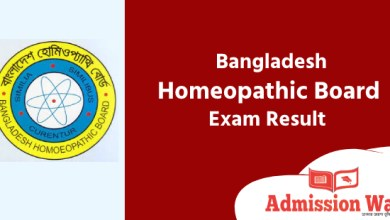 Photo of DHMS Result 2020 । Bangladesh Homeopathic Board Exam