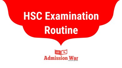 Photo of HSC Exam Routine 2020 PDF Download | All Education Board