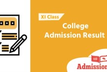 Photo of XI Class College Admission Result 2020 | Merit list & Migration Result