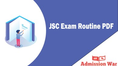 Photo of JSC Routine 2019 PDF Download- All Education Board