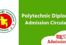 Photo of Polytechnic Diploma Admission Circular 2020 । BTEB Admission Result