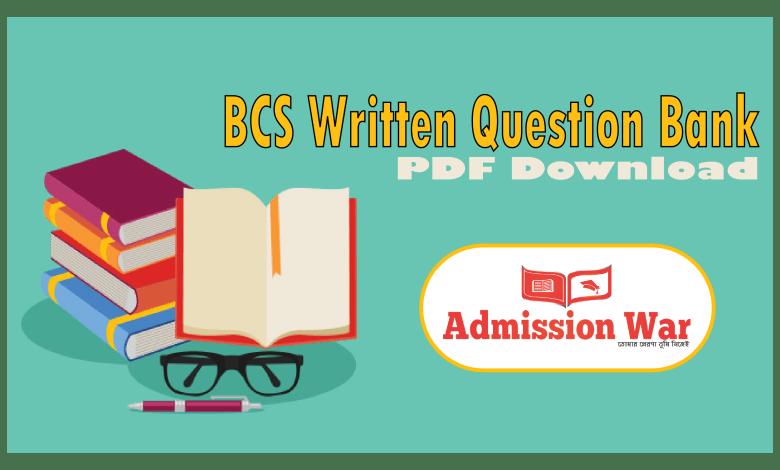 bcs written question bank pdf download