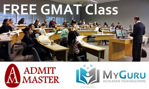 Free GMAT Class Chicago