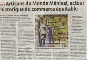Article Le Progres 11102015 ADM Lyon Ouest