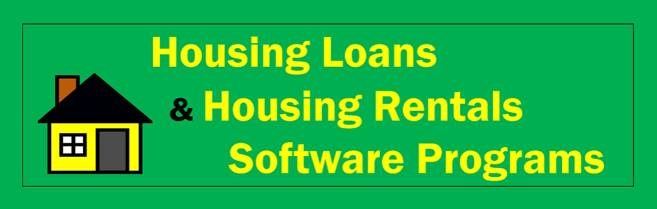 Housing Loans and Rentals Software
