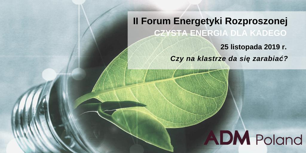 ADM Poland gościem II Forum Energetyki Rozproszonej