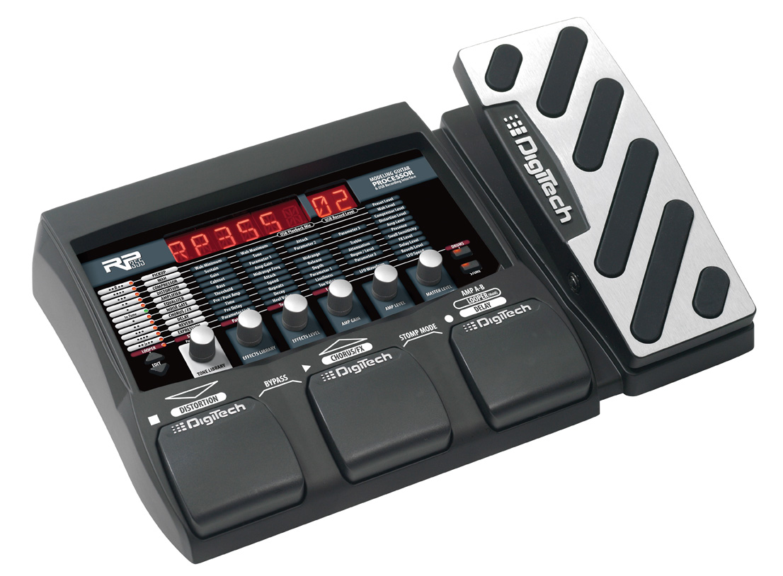 RP355  DigiTech Guitar Effects