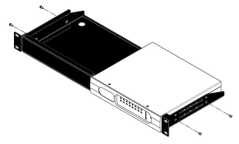 1u rack mount kit bss networked audio