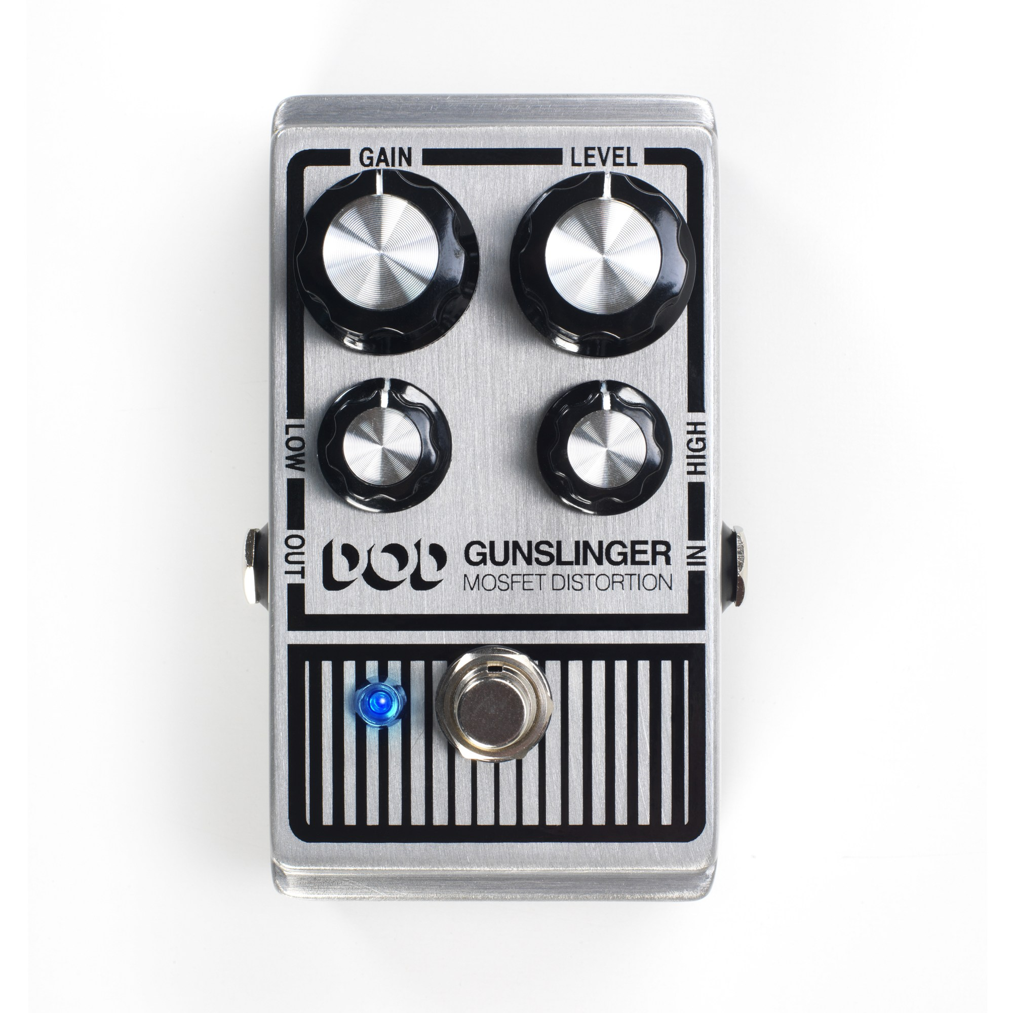 hight resolution of mosfet distortion pedal