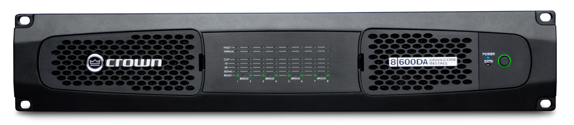 hight resolution of eight channel 600w 4 power amplifier with dante aes67 networked audio and 70v 100v