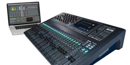 small resolution of 40 input digital mixing console and 32 in 32 out usb interface and ipad control