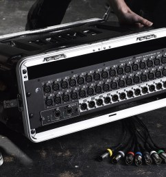 40 input digital mixing console and 32 in 32 out usb interface and ipad control [ 1600 x 800 Pixel ]