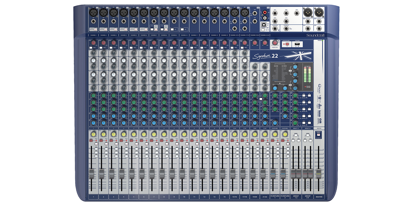 hight resolution of compact analogue mixing your signature sound
