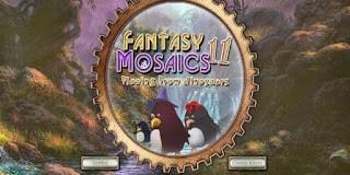 Fantasy Mosaics 11 – Fleeing from Dinosaurs
