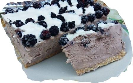 desert îngheţat din ciocolată