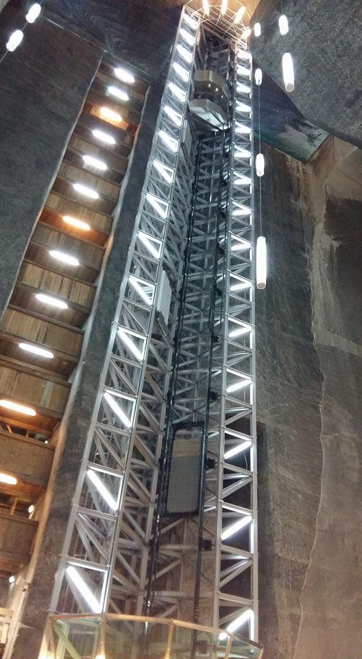 salina turda lift
