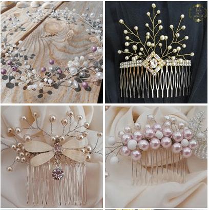 accesorii nuntă personalizate pentru par