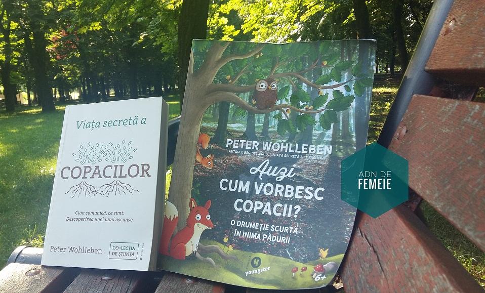 Două cărți scrise de Peter Wohlleben
