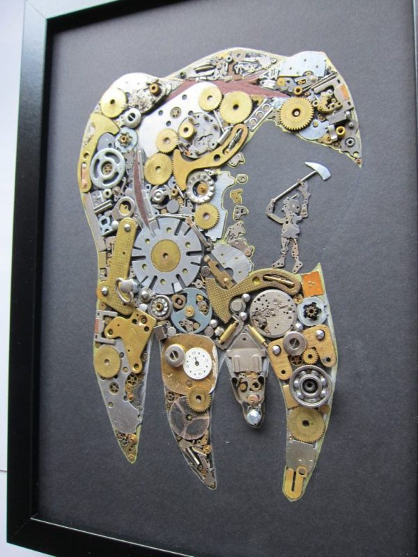 tablou dentist mecanic
