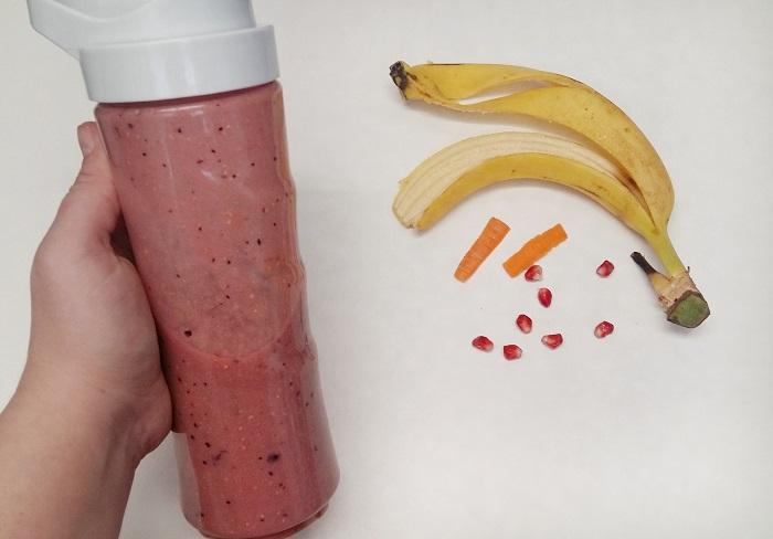 smoothie pentru copii roz