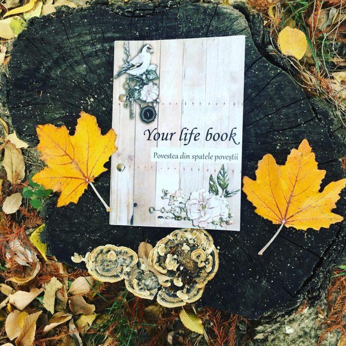 carte personalizata cu povestea ta