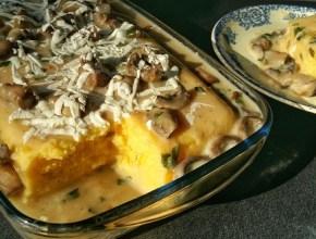 mamaliga cu ciuperci