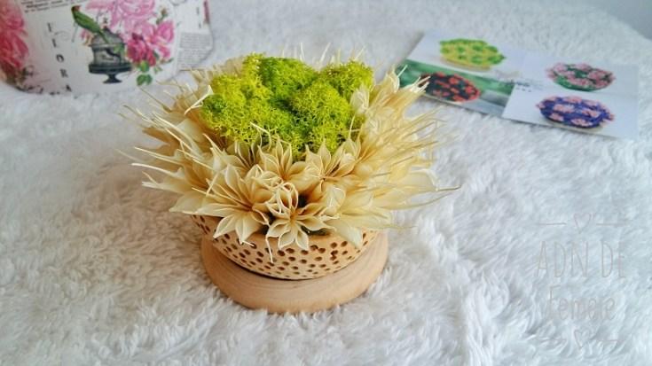 aranjament flori nemuritoare
